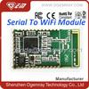 High quality QCA4004 Serial wifi control module support UART / USB/I2C
