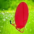 Banda ku 120 cm tv de la antena parabólica partes plato de la antena de malla
