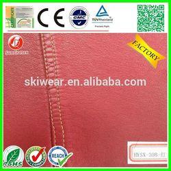Eco friendly Durable fabric pu backing