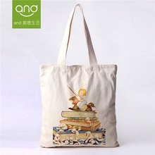 Hot Sale small zipper cotton canvas tote bags for packaging
