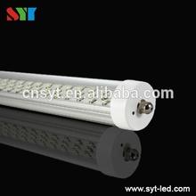 High power AC85-265V SMD LED Tube 2/3/4/5/6/8ft T8/T10 2400mm 55w 8ft led tube light
