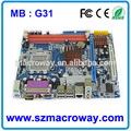 intel g33 chipset de la placa base precio de shenzhen