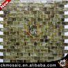 15*31.5*6mm Strip Amber Glass Mosaic Home Decor Tile