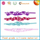 promotional gift lucky gold supplier customized food grade rubber band