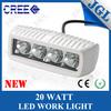 quality product cree 20w led work lamp 12v led working light marine fog lights