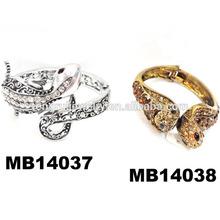 wholesale vintage crystal snake men's bracelet