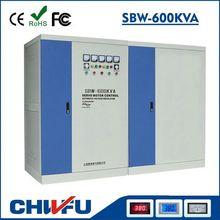 AVR- 600KVA SBW series 3 phase three phases non-contatc intellgent stabilizer