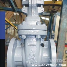 DIN STD rising stem gate valve 124