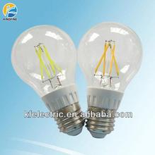 High CRI 80ra led lamp 4w 5w 6w 8w e27 e26 b22 e14 filament led bulb