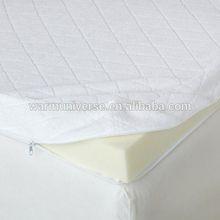 Queen Mattress Topper Sleep Foam Memory Cover Velour