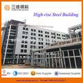 high rise prefabricados de luz marco de acero de fabricación de la estructura de la oficina de la construcción del edificio