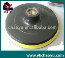 polishing velcro backer pad use with sandpaper