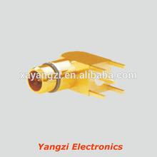 bma right angle plug receptacle printed circuit board