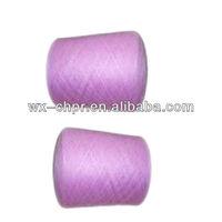 52NM/2 5%silk 53% cotton 42% viscose yarn for knitting machine