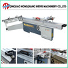 MJ6138C precision wood cutting sliding table saw machine