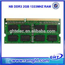 ETT original chips 2gb ddr3 computer memory for laptop