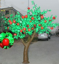 led garden decorative outdoor artificial appple tree light by china supplier