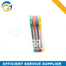 Highlighter Multi Color Glitter Pen