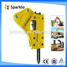 hydraulic rock breaker/excavator attachment case