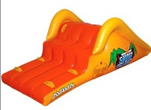 2014 summer attractive PVC giant inflatable water slide
