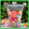 Yiwu China resealing candy packing pe plastic bag with zipper