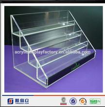 Yageli high quality fashion hot sale acrylic more layers display /Stand display