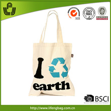 Wholesale hand bag Manufacture reusable cotton shopping tote bag