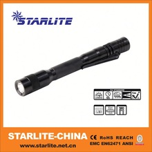 Latest hot highlight 2013 fashion popular metal pen with light