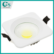 "3"" 10W COB high power square led ceiling party ceiling led"