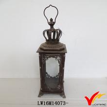 luckywind vintage distress branded trade lantern