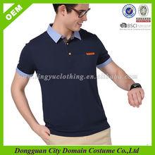 Brand High Quality T Shirt Design Polo Supplier for Men (lvt060080)