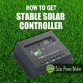 Spm 48v 20a pwm. régulateur de charge solaire