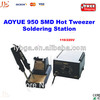 Freeshipping! 110/220V SMD Hot Tweezer Soldering Station Aoyue 950, solder station bga welding equipment