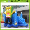 Cheap newly design pretty lovely cheap inflatable combo bouncers