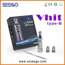 2013 revolutionary upgrading glass atomizer seego Vhit type B top quality kayfun 3.1 atomizer