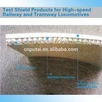 High Quality High Speed Railway Locomotive Aluminum Foam Acoustic Material