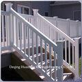 Rampe d'escalier en vinyle pvc