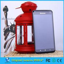 Original Lenovo S930 Mobile Phone MTK6582 Quad Core 1GB RAM 8GB ROM 8MP Camera Android 4.2 GPS 3G