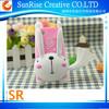 cute 3D rabbite mito silicon stand case for iphone 5 5s