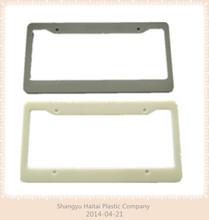 custom plastic car license plate frames,metal car frames ,car license