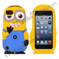 Cute 3D Minion Despicable Me 2 Case for iPod Touch 5 Minions Case
