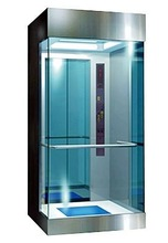 3,4,5 persons panoramic glass home elevator for sale