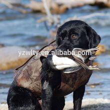 hunting vest dog
