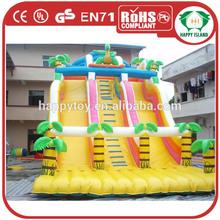 HI CE New!! Promotion inflatable pool slide/tarpaulin for slide giant for adult