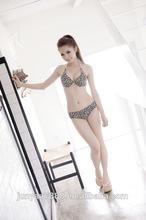 new model swimsuit set 10 year olds in bikinis black and white bandage bikini