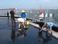 건물 지붕 폴리 우레탄 방수 코팅