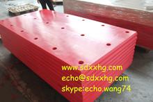 Plastic wear resistant UHMWPE marine fender board/fender marine