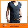 New Fashion Blank Low Collar T-shirts Design wholesale