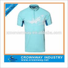 100% Polyester Collar Brand Sport T Shirt Wholesale