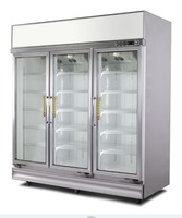Refrigerated fruit vegetable display